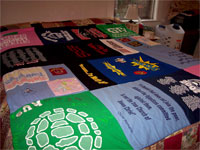 Brooke's T-Shirt Quilt