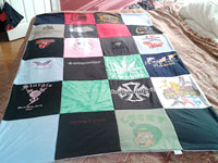 Tiffany's T-Shirt Quilt