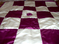 Cory's Wedding Dress Quilt