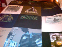 Catherine's Grandson's T-Shirt Quilt