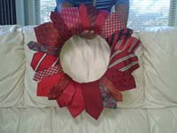 Holiday Wreath - Red